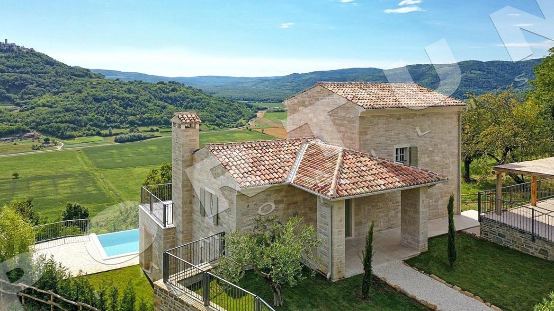 Luksuzna vila u sredi njoj istri s fantasti nim pogledom for Planimetrie di lusso